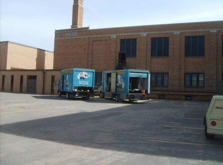 Air Duct Cleaning in Canon City Middle School