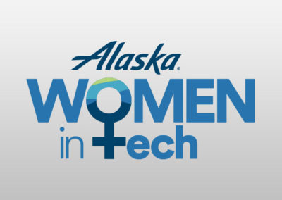 Alaska Airlines Women In Tech word mark