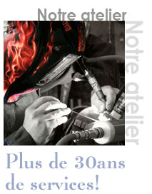 atelier soudure industrie Billette