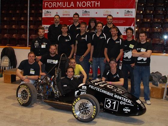 Formule SAE  Polytechnique 255
