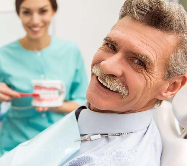 Denture Care - image  on https://alwaysbeautifulsmile.com