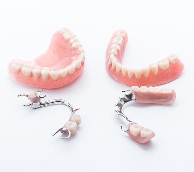 Dentures and Partial Dentures - image  on https://alwaysbeautifulsmile.com