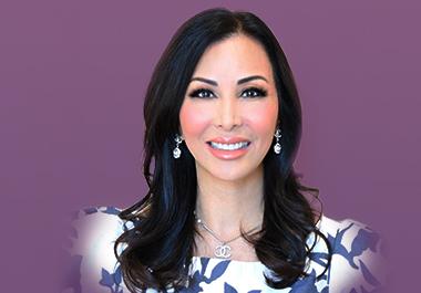 A headshot of Doctor Sheila Barbino