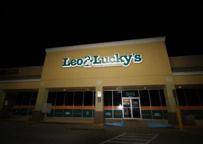 L &L store at night
