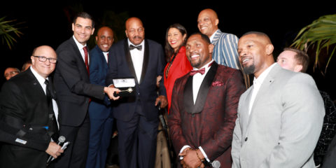 VIP Party Honors Jim Brown Before Super Bowl LIV