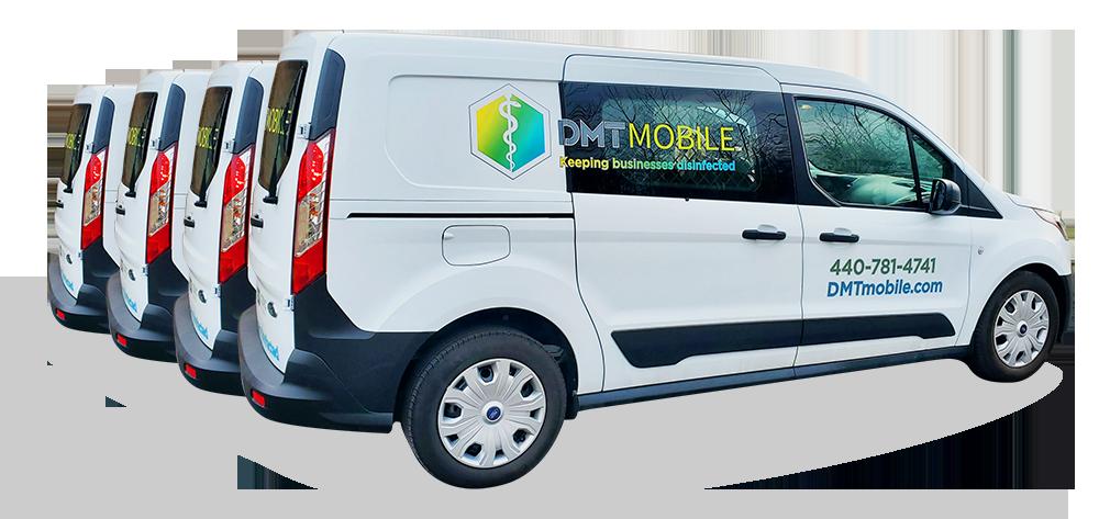 DMT Mobile Van Fleet