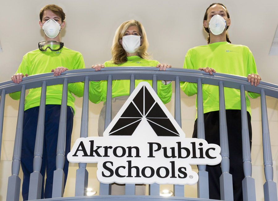DMT Mobile Case Study | Akron Public Schools Relies on DMT Mobile's Antimicrobial Disinfection Technology for a Safe Return to In-Person Learning