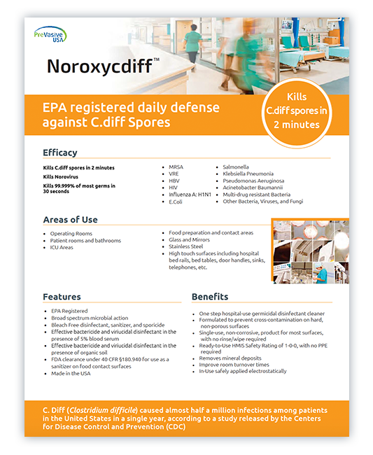 DMT Mobile product data sheet | Noroxycdiff
