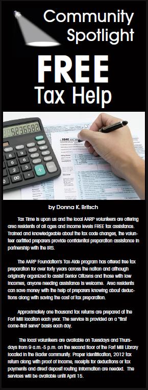 free-tax-help