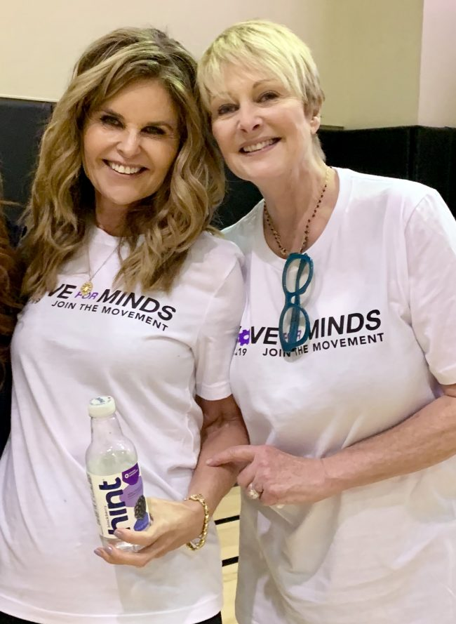 MARIA SHRIVER'S MOVE FOR MINDS!!!