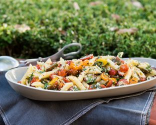 INSTEAD OF POTATO SALAD ADD A HEALTHY  PASTA SALAD TO YOUR MEMORIAL DAY CELEBRATION!