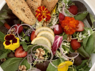 SUMMER SALAD! INCLUDING 3 DRESSINGS TO CHOOSE FROM