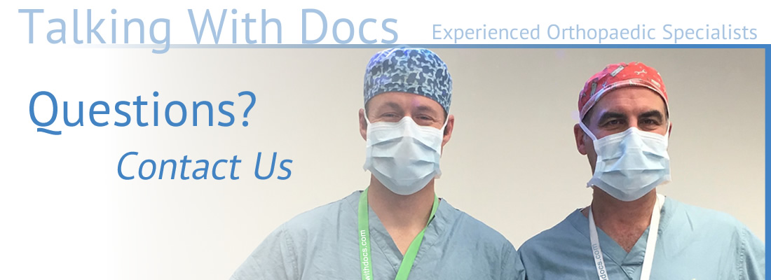 Questions Contact Us Slider Talking with Docs