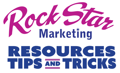 Rock Star Marketing Resources Tips and Tricks logo
