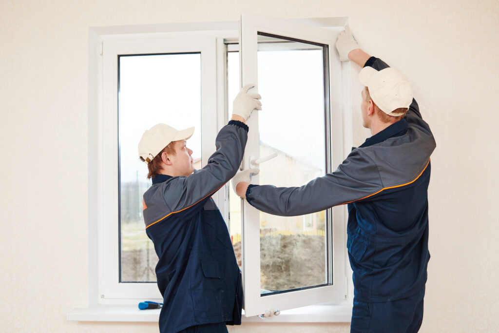 residential glass services window installation