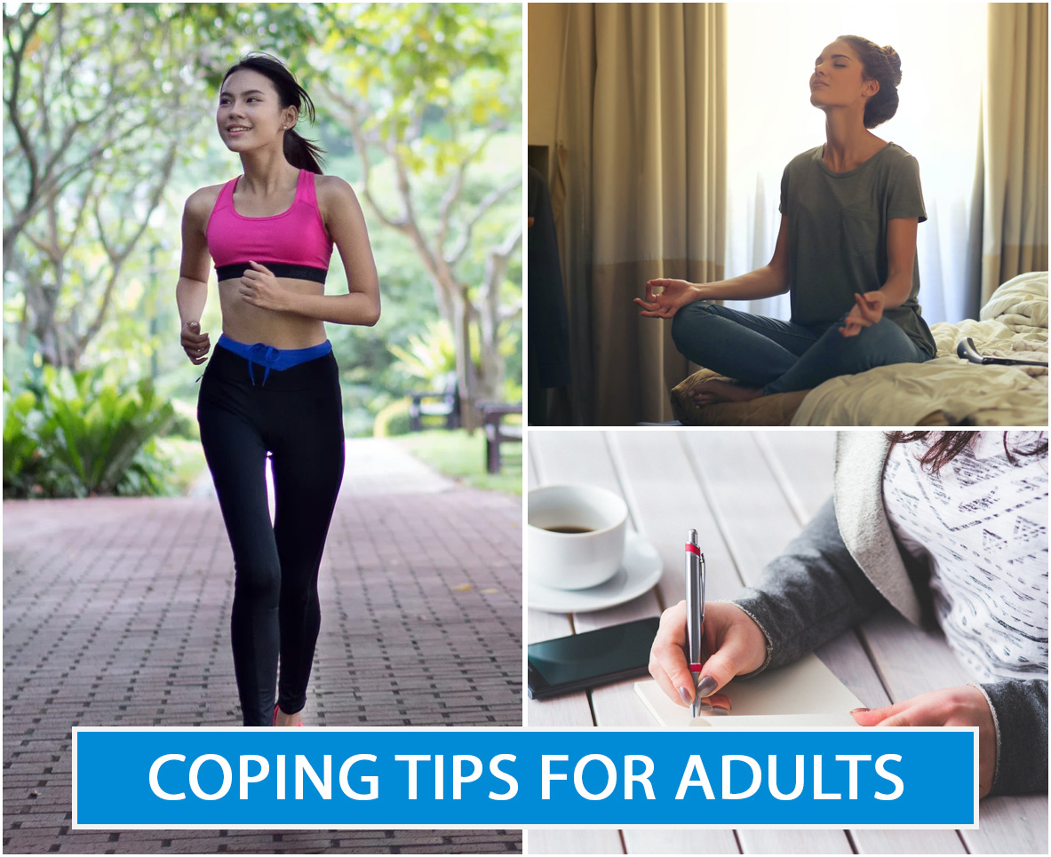 COPING TIPS FOR ADULTS
