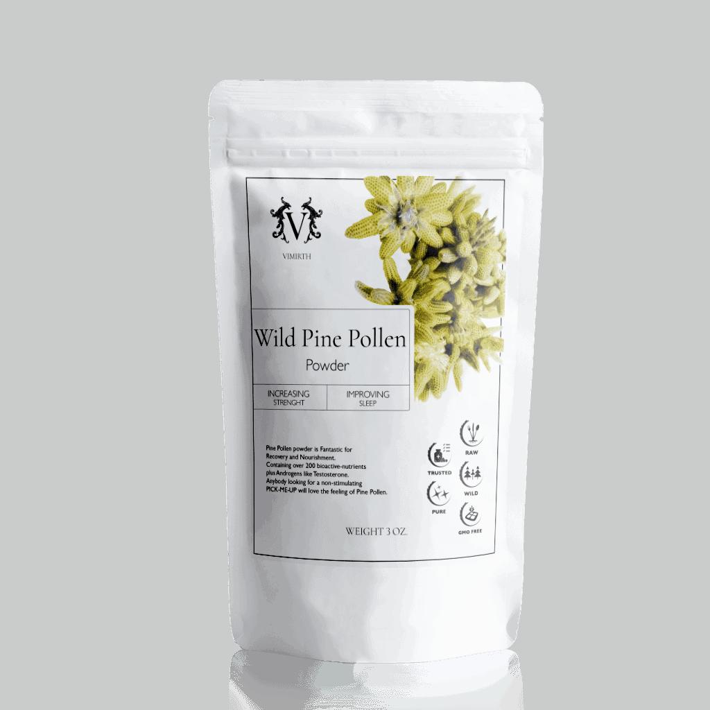 wild pine pollen powder