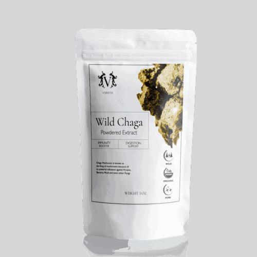 wild chaga powdered extract