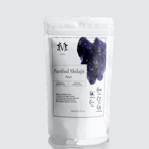 purified shilajit resin
