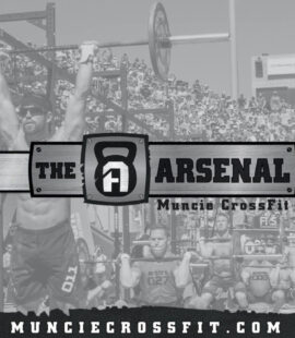 The Arsenal Muncie Crossfit Graphic Design