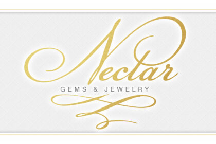 Nectar Gems and Jewelry Logo Design and Branding