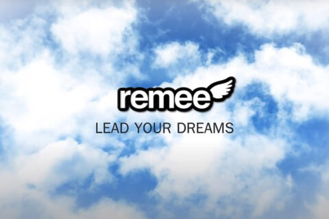 Remee Sleeping Mask Logo Animation Motion Graphics