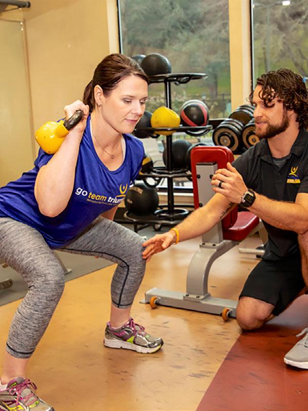 Triumph strength training