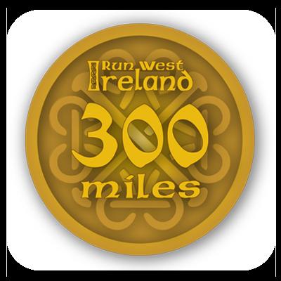 300 mile badge