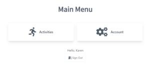 Main menu image