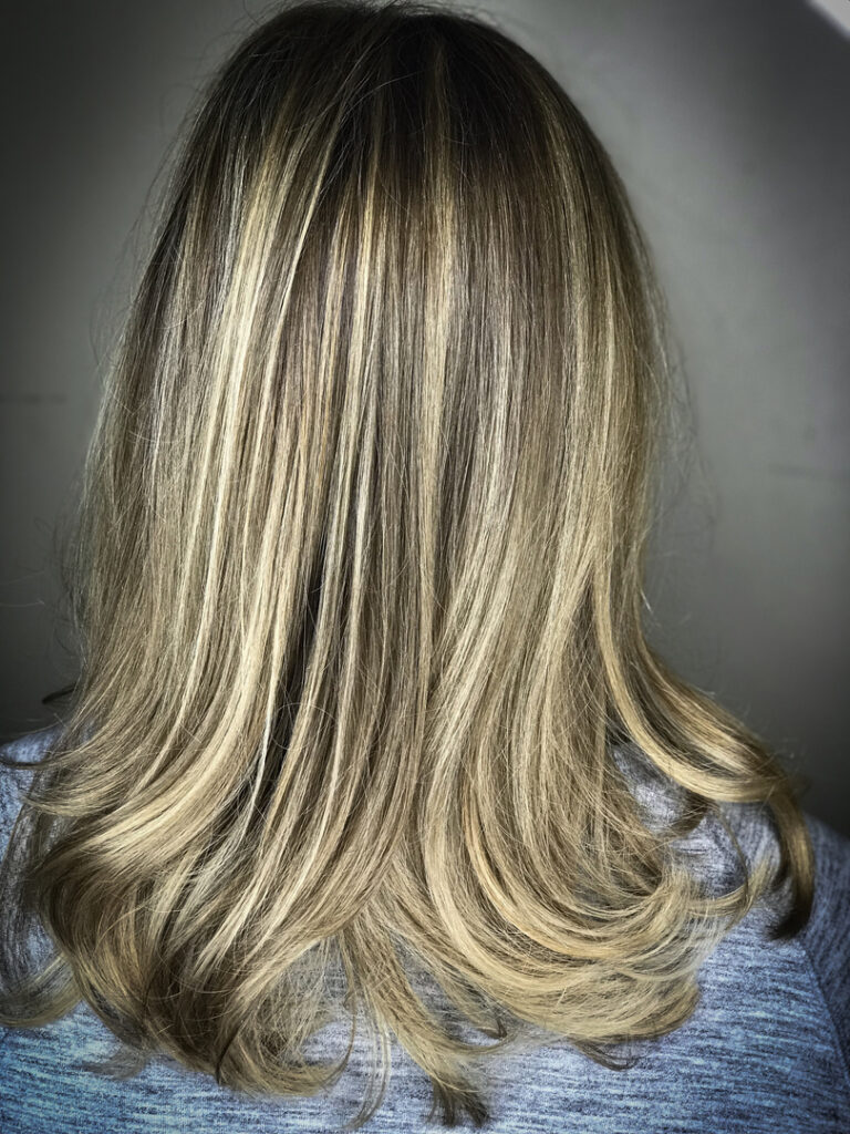 Thomas Shelton's Client With Highlights