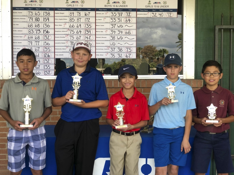 11-12 (left to right) Nicklas Nuez, Ryan Hanawalt, Derick Pedrosa, Oscar Uribe, Nero Nuez