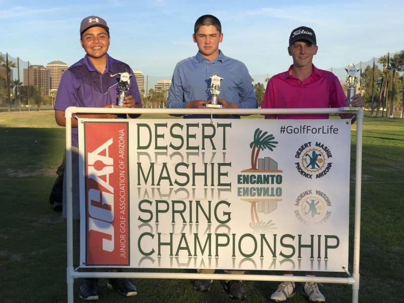 15-18 (left to right) Alan Quezada, Torin Dezzani, Ty Sullivan