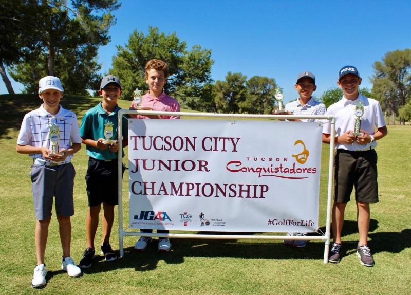 Boys 11-12_Griffin Meister, Chase Pickering, Trey Mosharrafa, Gavin Ly, Brennan Korn