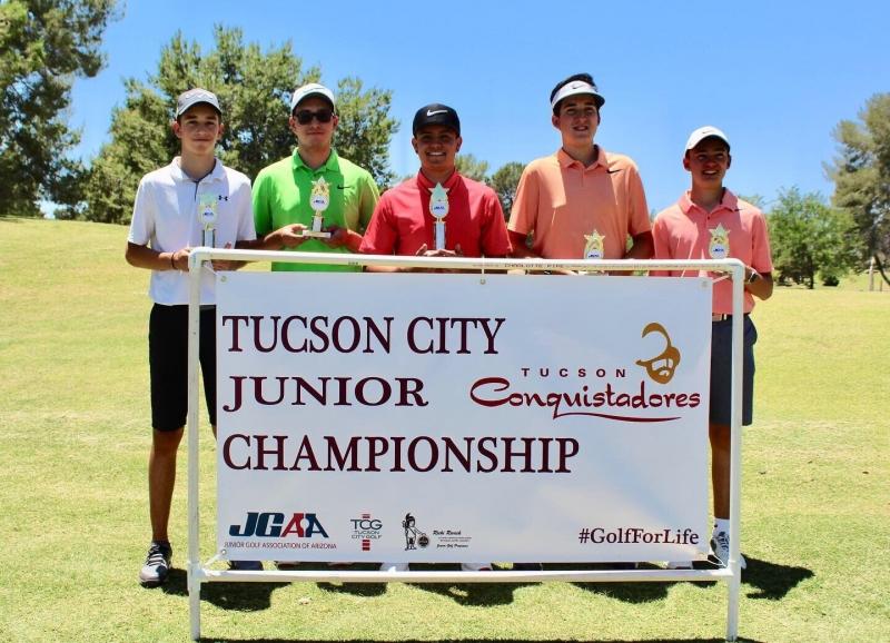 Boys 15-18_Jorge Parada, Isaac Ruiz, RJ Wright, Andrew Rivas, Diego Guerrero