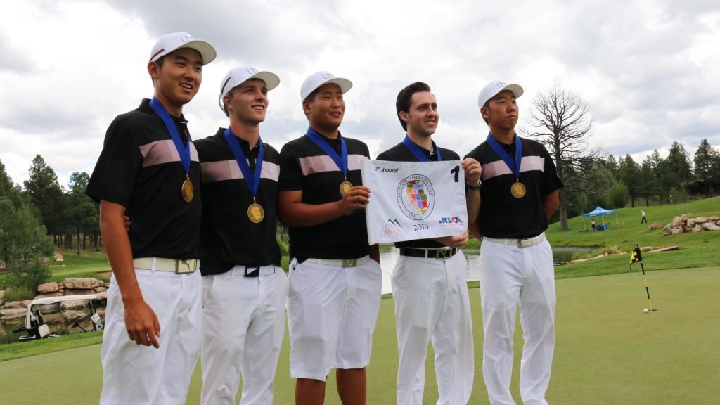 Team Southern California (L-R) – Joseph Chun, Chase Furey, Sam Choi, Kevin Smith and Justin Kim