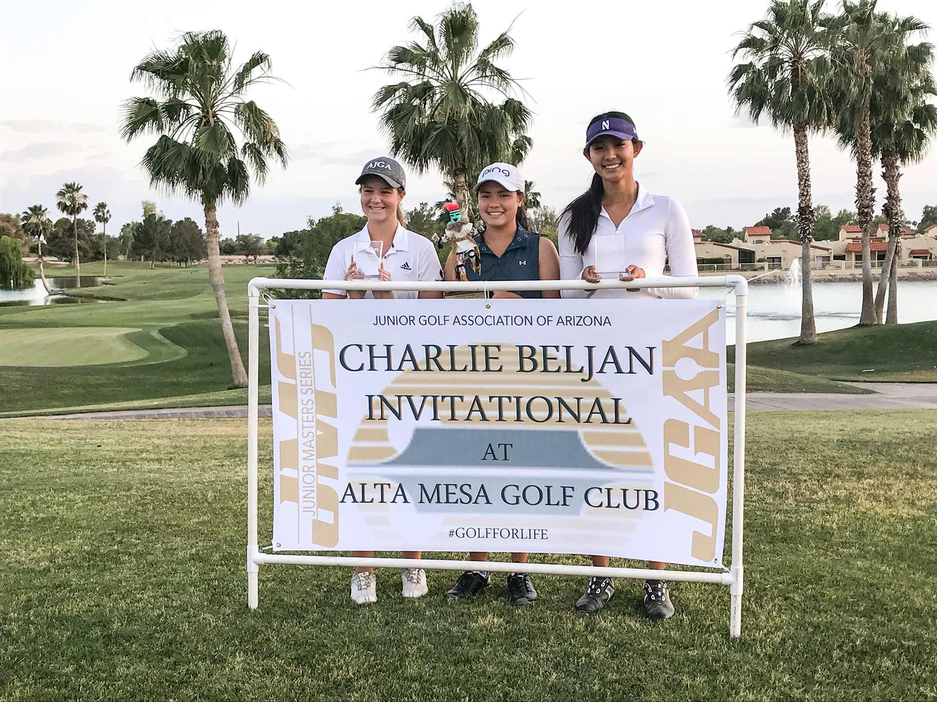 left to right: Madeleine Laux, Ashley Menne, Kelly Su