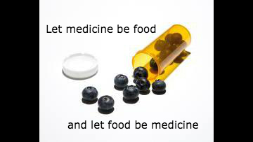Food is Medicine Blueberry pills