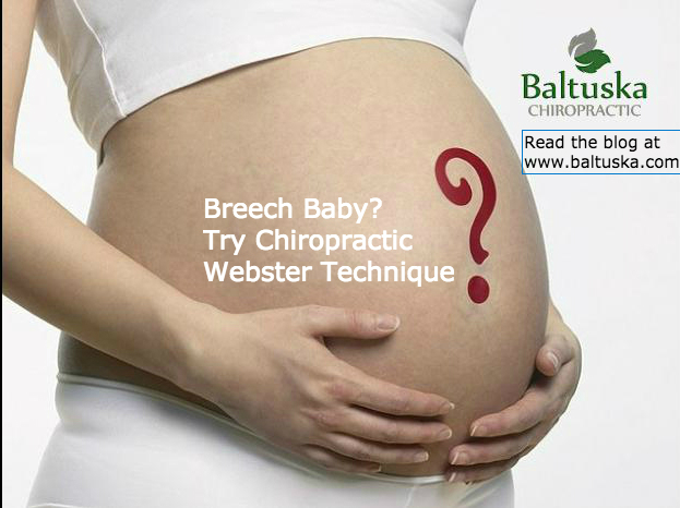 breech baby chiropractic webster technique