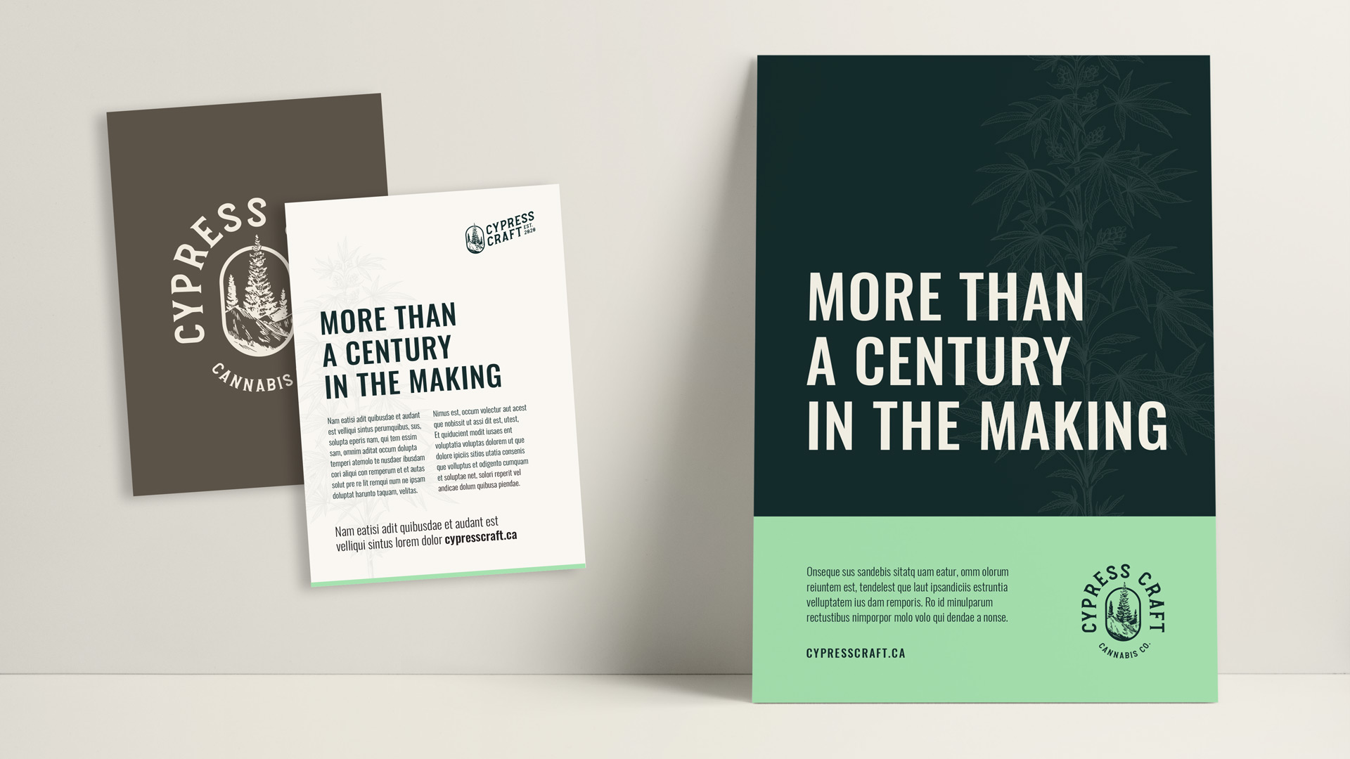 Cypress Craft informational handout