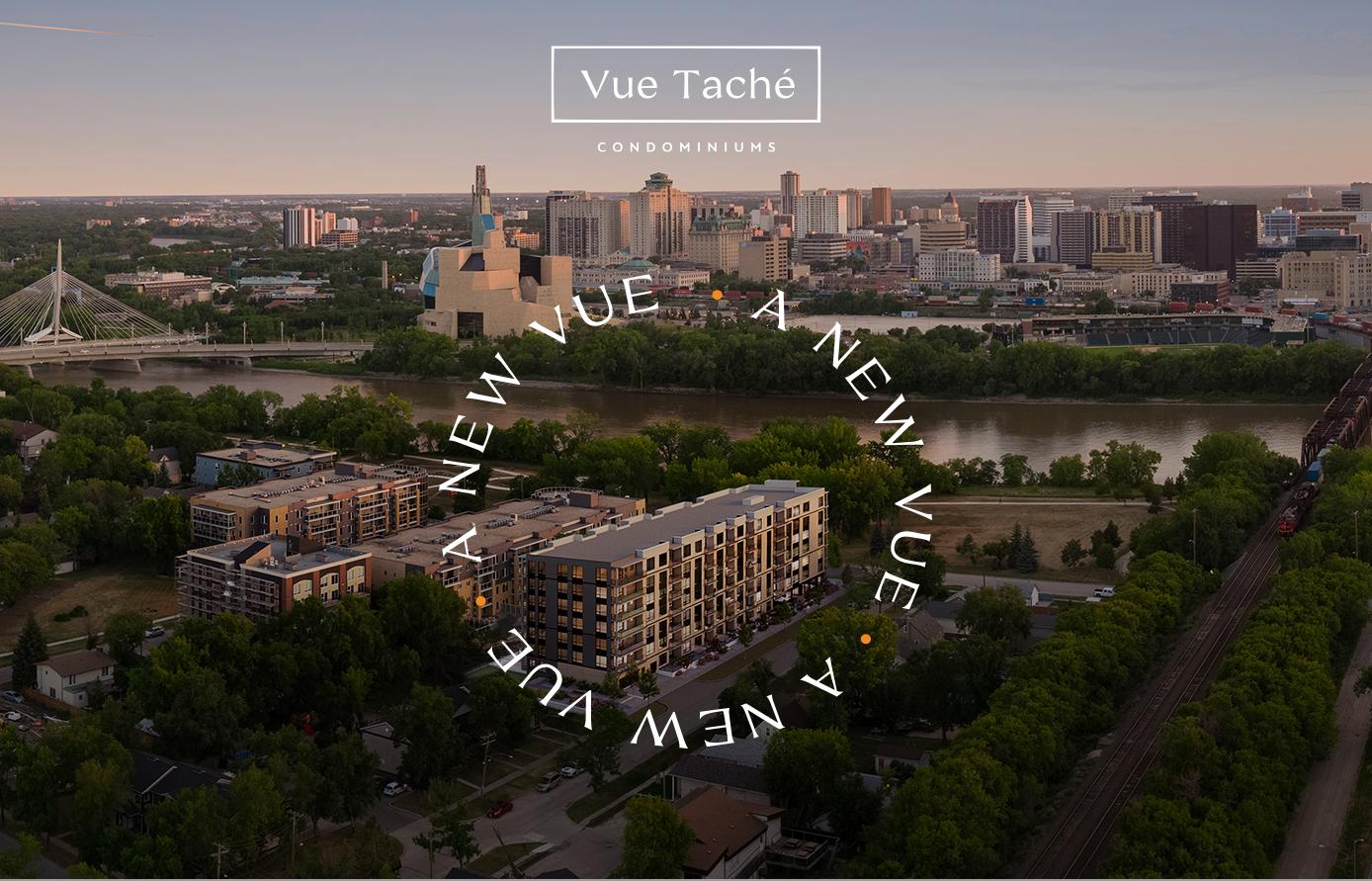 Skyline view of St. Bonifice in Winnipeg featuring Vue Tache