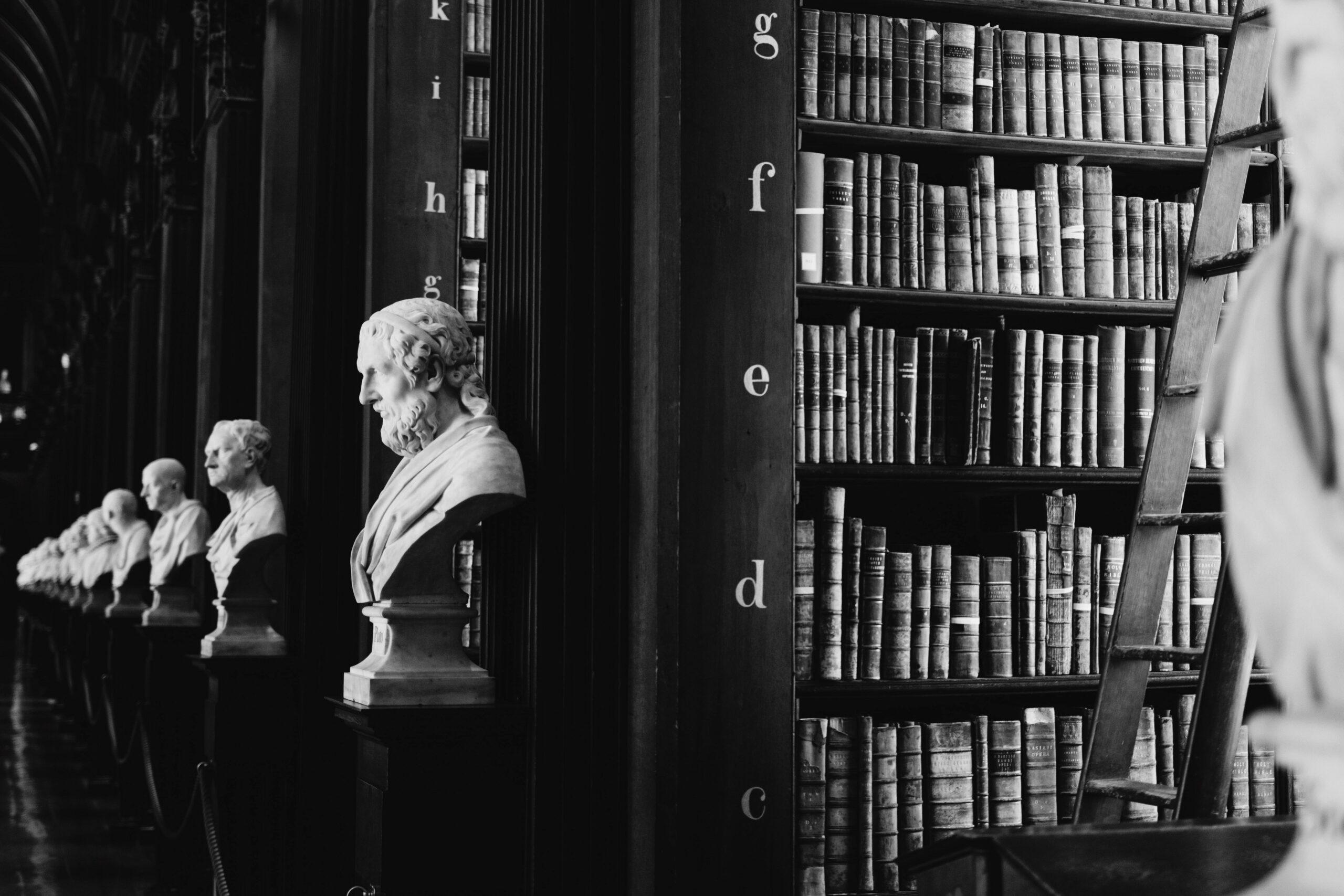 Library B&W