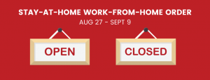 Second Stay-At-Home Work-From-Home Order: What's open, What's Not