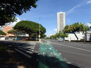 Bicycle Safety In Urban Honolulu