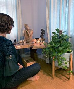 Gamble Family Adventures RV Travel Blog   About Jana   Meditation