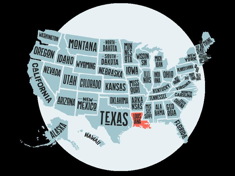 Gamble Family Adventures RV Travel Blog | States Visited | Louisiana