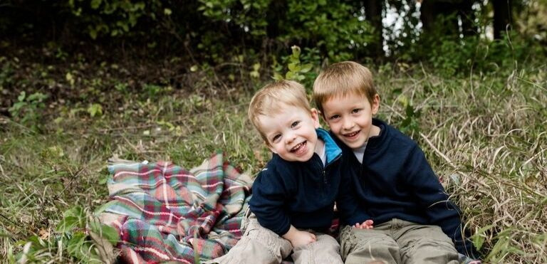 two boys on blanket family law fargo
