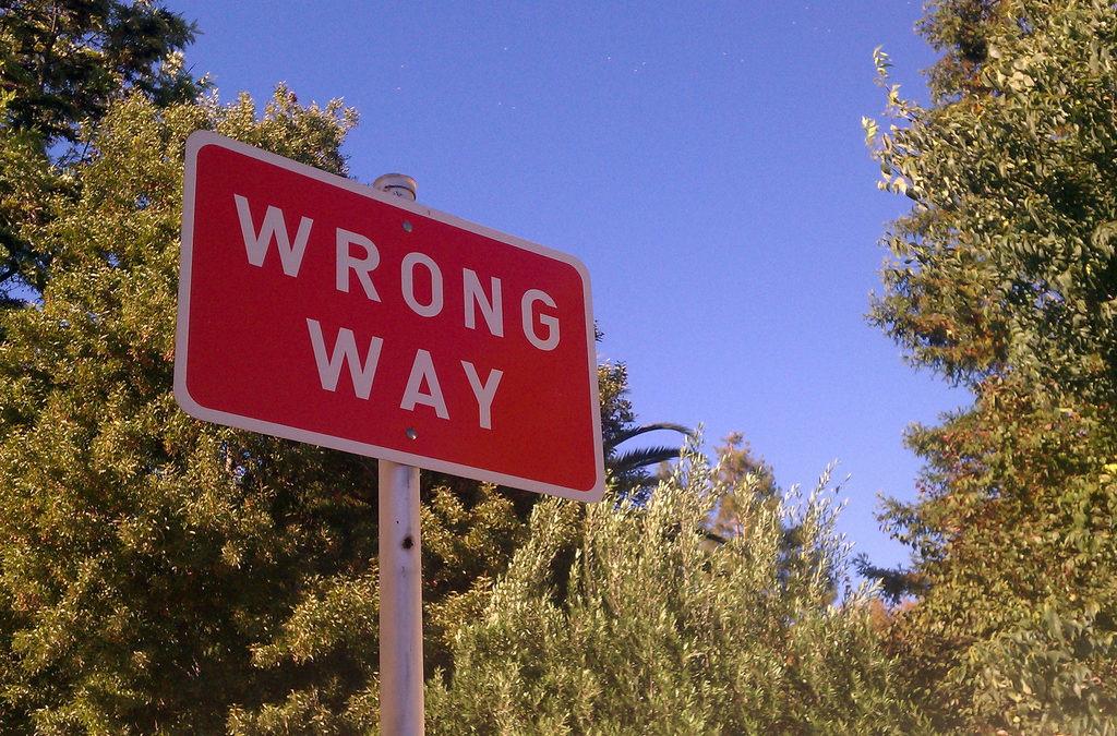 wrong way driving criminal law fargo nd