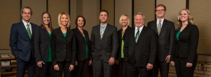 Okeeffe Attorneys Team Photo business law fargo nd