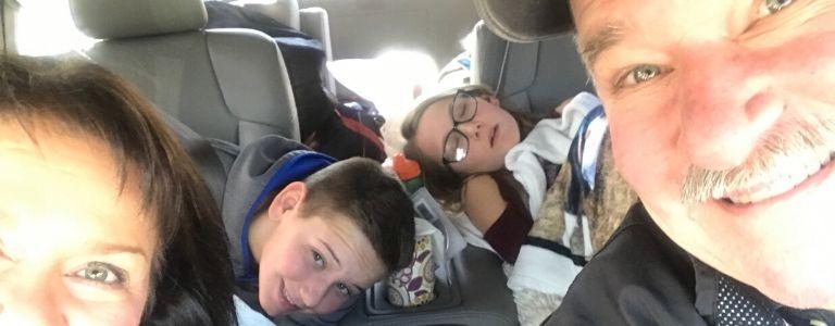 family road trip personal injury fargo