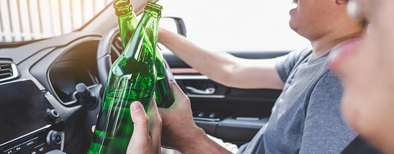 drinking in car criminal lawyer fargo